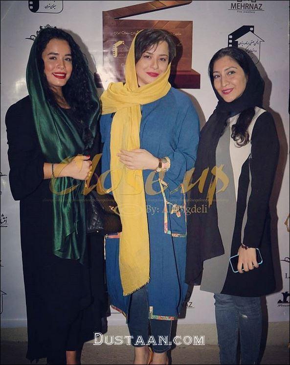 www.dustaan.com خواهران شریفی نیا و بهاران بنی احمدی در یک قاب