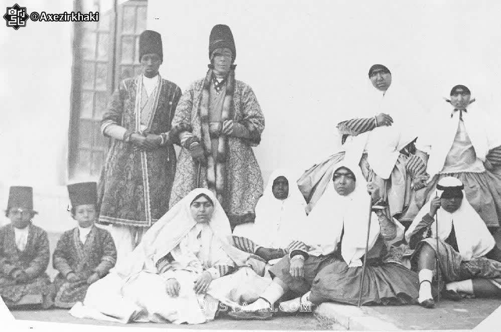 www.dustaan.com شاه ایرانی که ۸۵ زن و ۲۷ فرزند داشت!