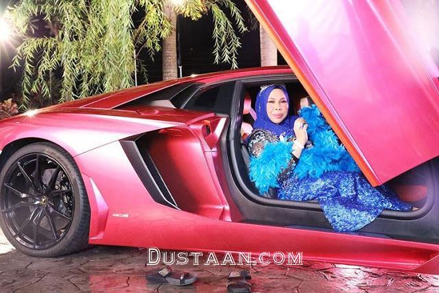 www.dustaan.com فخرفروشی عجیب یک زن ثروتمند در اینستاگرام +عکس