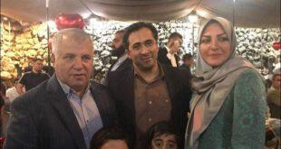 المیرا شریفی مقدم و همسرش در جشن تولد علی پروین +عکس