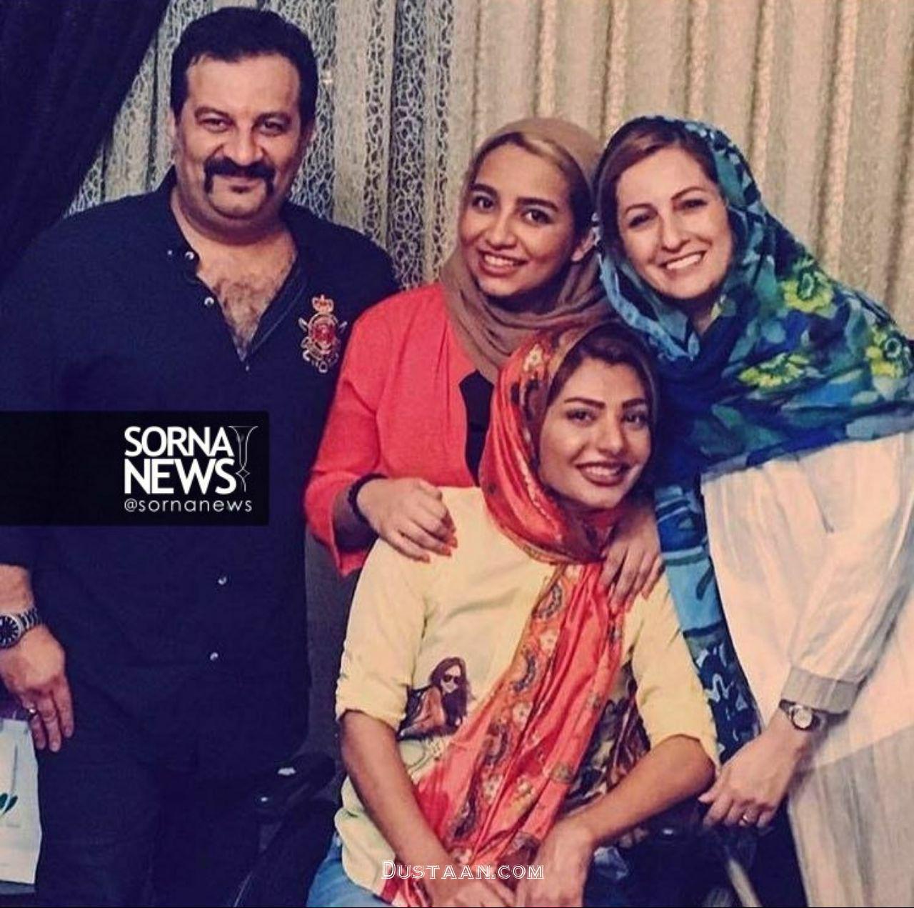 www.dustaan.com شقایق دهقان به همراه همسر و دخترش نیروانا +عکس