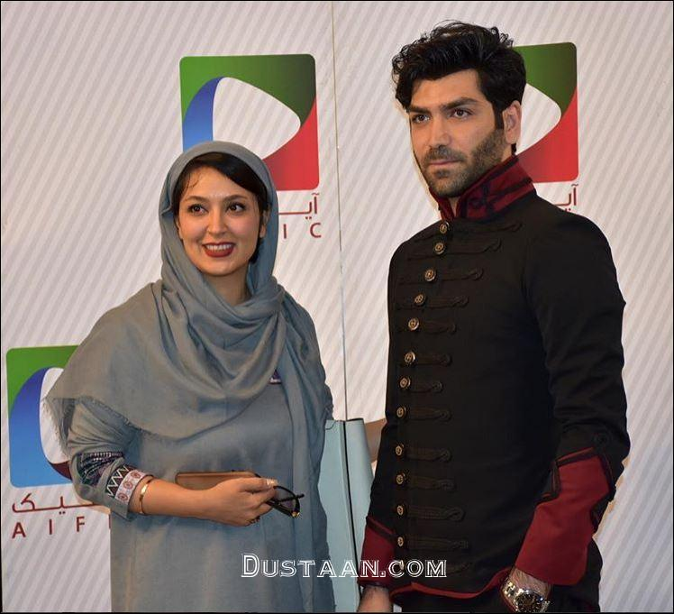 www.dustaan.com عکس های جدید فریبا طالبی و همسرش