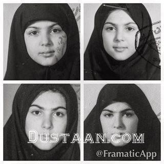 www.dustaan.com چهره دیدنی لاله اسکندری در دوران مدرسه! +عکس