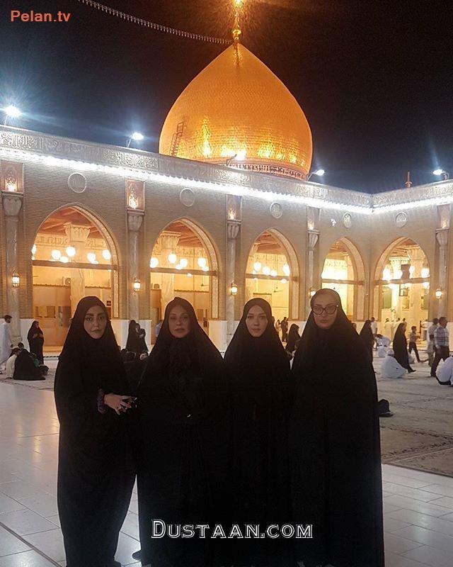 www.dustaan.com «شقایق فراهانی» و «نسرین مقانلو» در مسجد کوفه