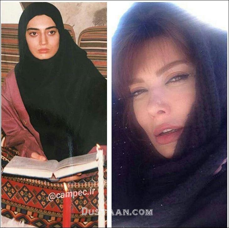 www.dustaan.com چهره دیدنی نگار فروزنده در گذر زمان! +عکس