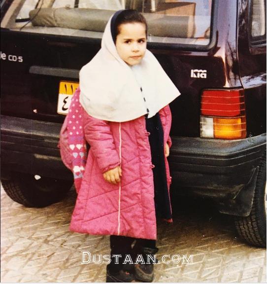چهره دیدنی ملیکا شریفی نیا در دوران مدرسه +عکس