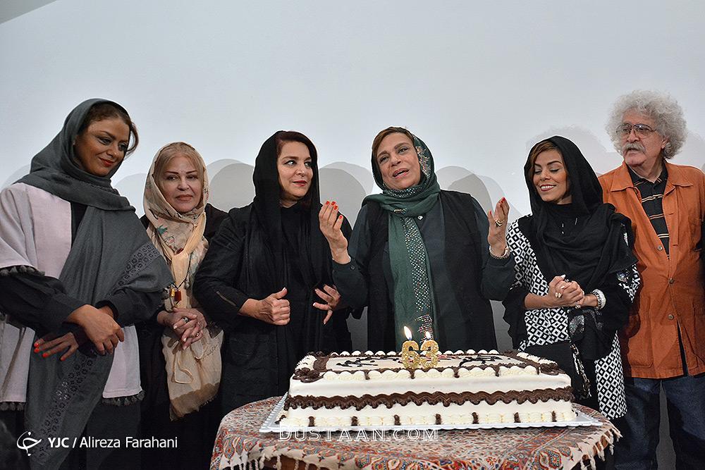 www.dustaan.com دورهمی بازیگران در جشن تولد 63 سالگی گوهر خیراندیش +تصاویر