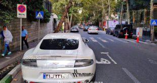 خودروی فوق لوکس 2 میلیارد تومانی در تهران +تصاویر