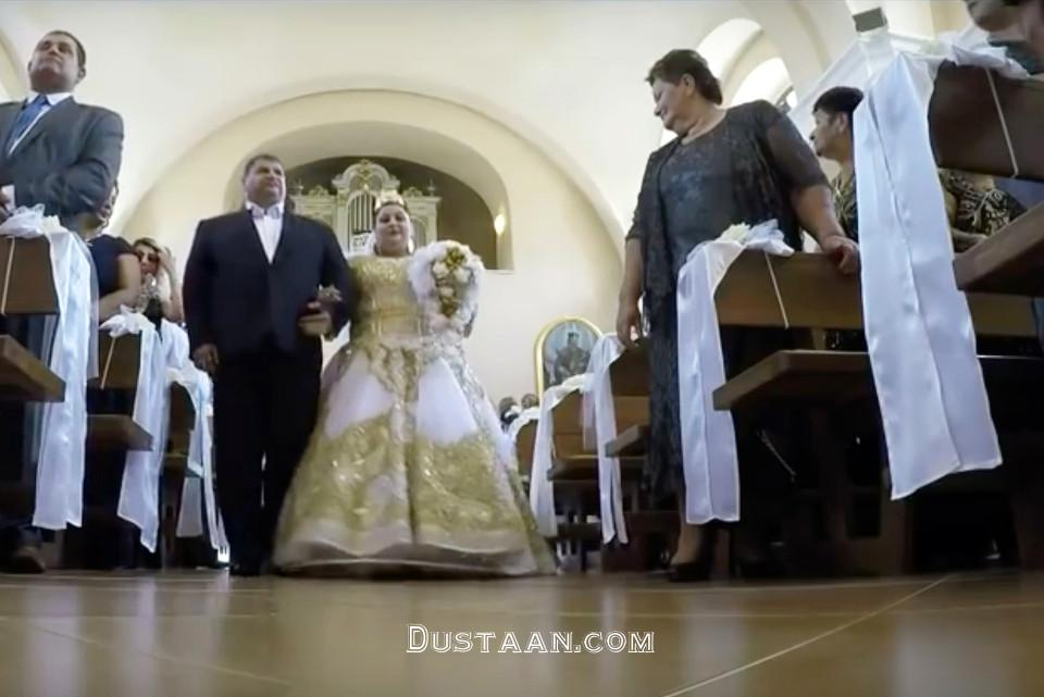 www.dustaan.com رونمایی از گرانترین لباس عروس جهان! +عکس