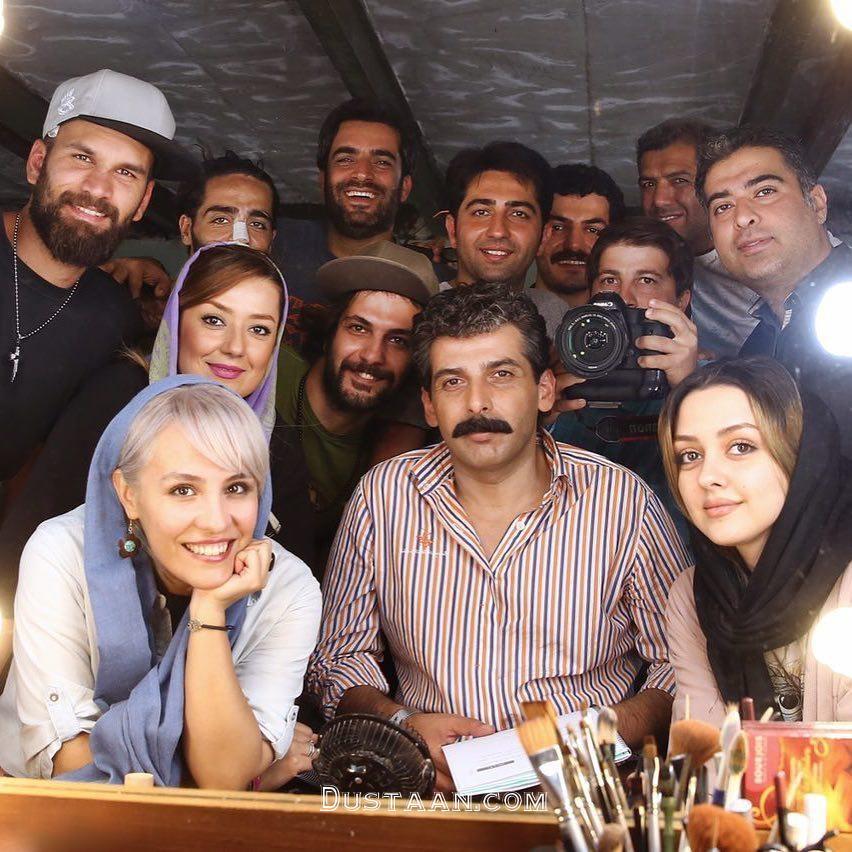 www.dustaan.com گریم دیدنی «حمید گودرزی» در فیلم «پاهای بیقرار» +عکس