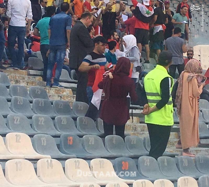 www.dustaan.com دختران سوری در ورزشگاه آزادی +عکس