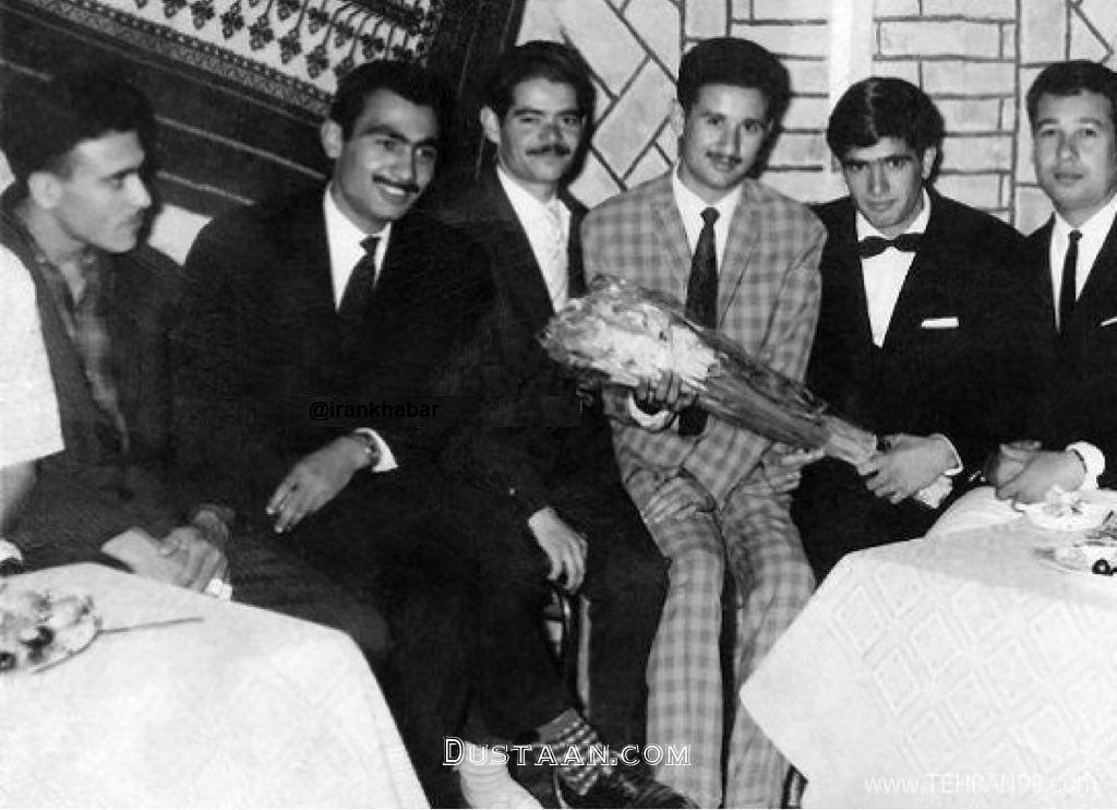 www.dustaan.com عکسی دیدنی از مراسم عروسی استاد شجریان