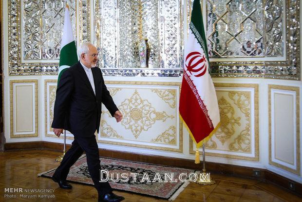 www.dustaan.com دیدار محمدجواد ظریف با وزیر خارجه پاکستان +تصاویر