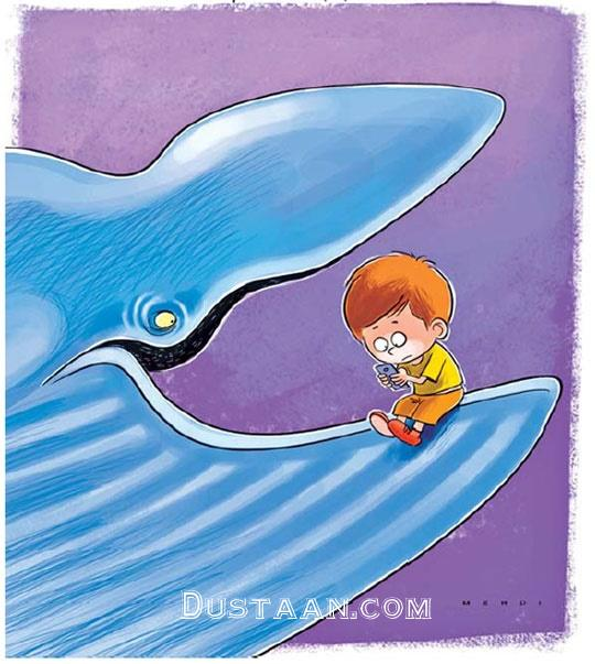 www.dustaan.com مراقب این نهنگ آبی باشید! +عکس