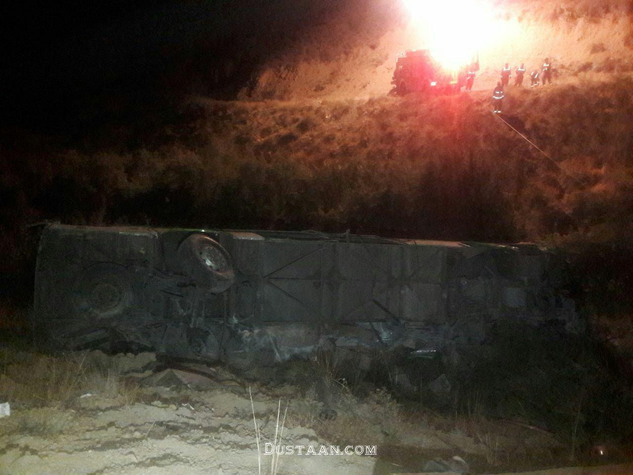 www.dustaan.com سقوط اتوبوس به دره در جاجرود؛  ۱۱ کشته و ۲۶ مصدوم برجا گذاشت +عکس