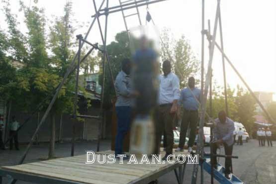 www.dustaan.com اعدام قاتل اسلام آبادغربی در ملاءعام +عکس