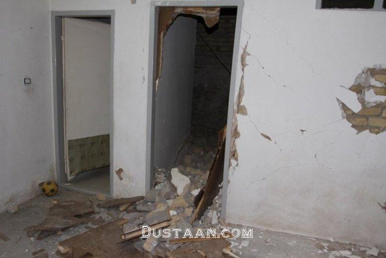 www.dustaan.com سوختگی عروس جوان در انفجار خانه مسکونی +عکس