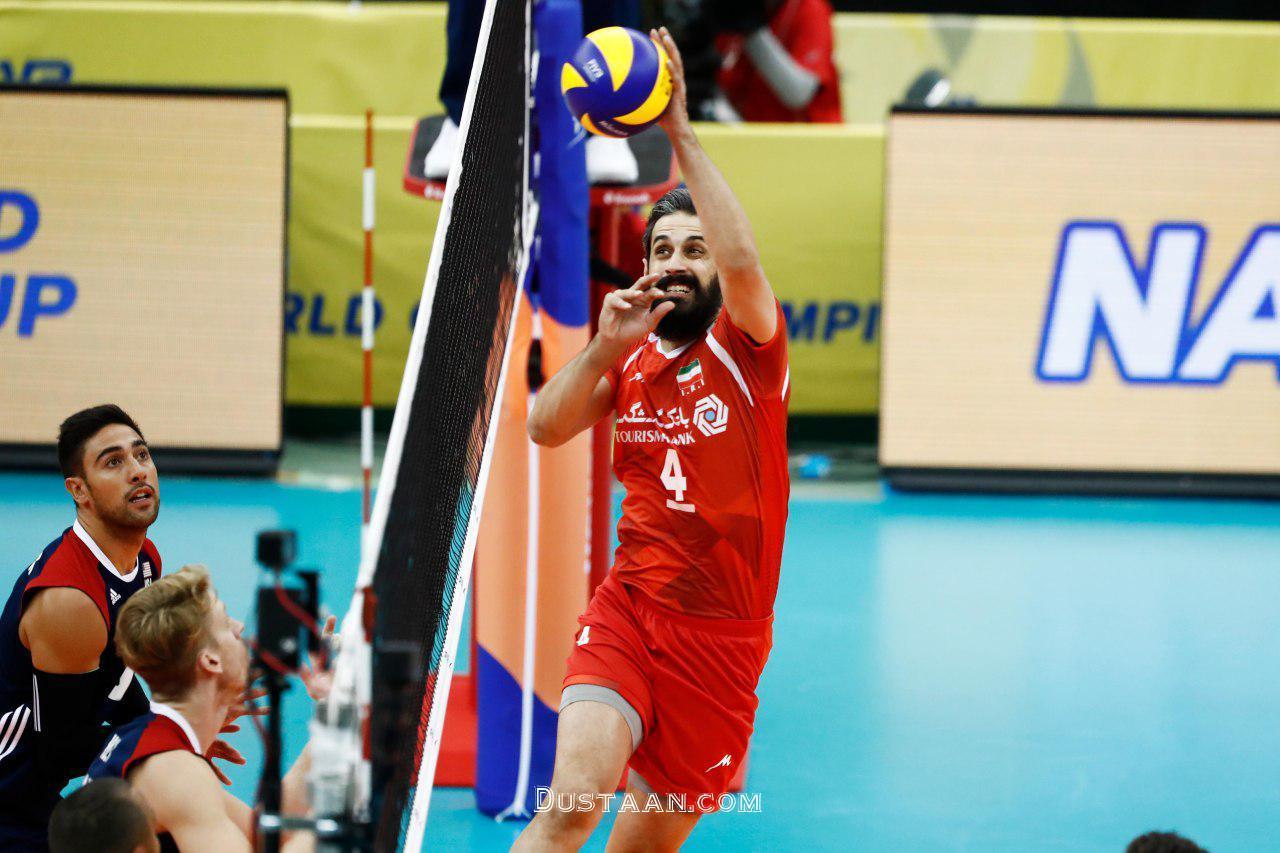 www.dustaan.com برتری والیبالیست های ایران مقابل آمریکا