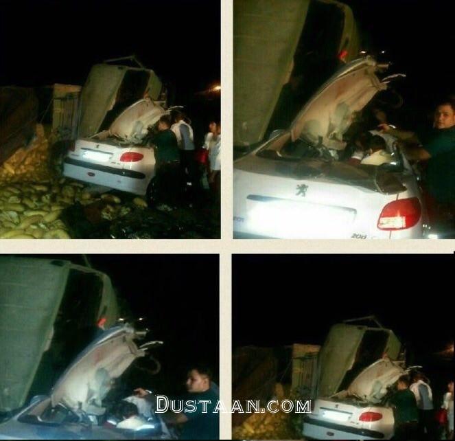 www.dustaan.com وقوع 2 تصادف مرگبار در جاده سلفچگان +تصاویر