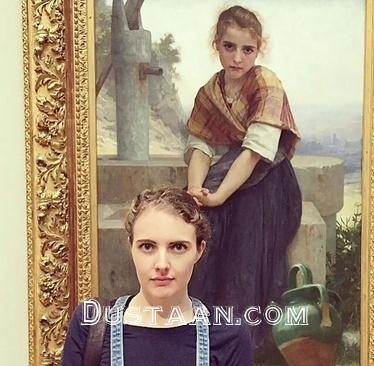 www.dustaan.com افرادی که همزاد خود را در موزه پیدا کردند! +عکس