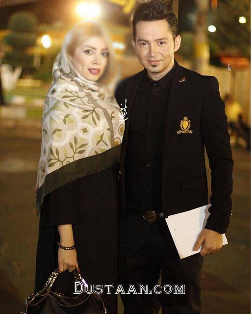 www.dustaan.com عکسی زیبا از شهنام شهابی و همسرش
