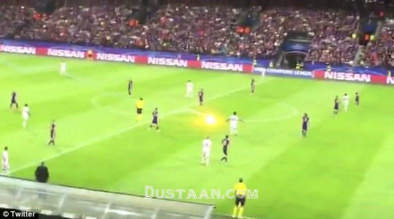 www.dustaan.com پرتاب گلوله های آتش به سمت داور بازی! +عکس