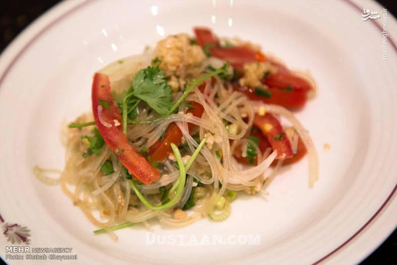 برگزاری جشنواره غذاهای تایلندی در تهران +تصاویر