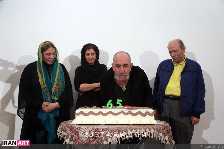 www.dustaan.com فرهاد آئیش در تولد 65 سالگی اش +عکس