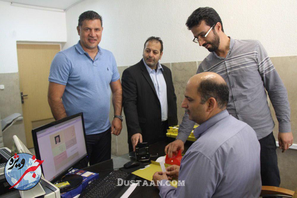 www.dustaan.com علی دایی در دانشگاه! +عکس