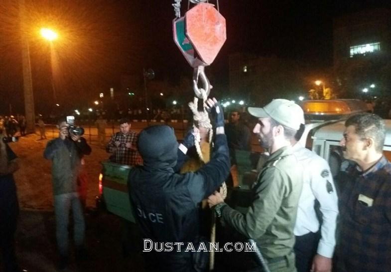 www.dustaan.com قاتل آتنا اصلانی اعدام شد + تصاویر کامل