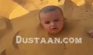 www.dustaan.com دفن پسربچه 2 ساله برای تفریح و خنده! +عکس