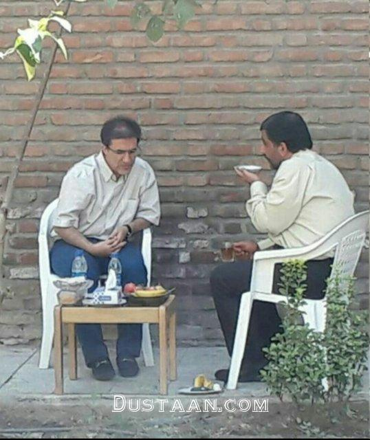 www.dustaan.com دیدار عزت الله ضرغامی و حسین کروبی +عکس