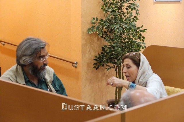 www.dustaan.com حمایت وحید جلیلی از فاطمه معتمدآریا
