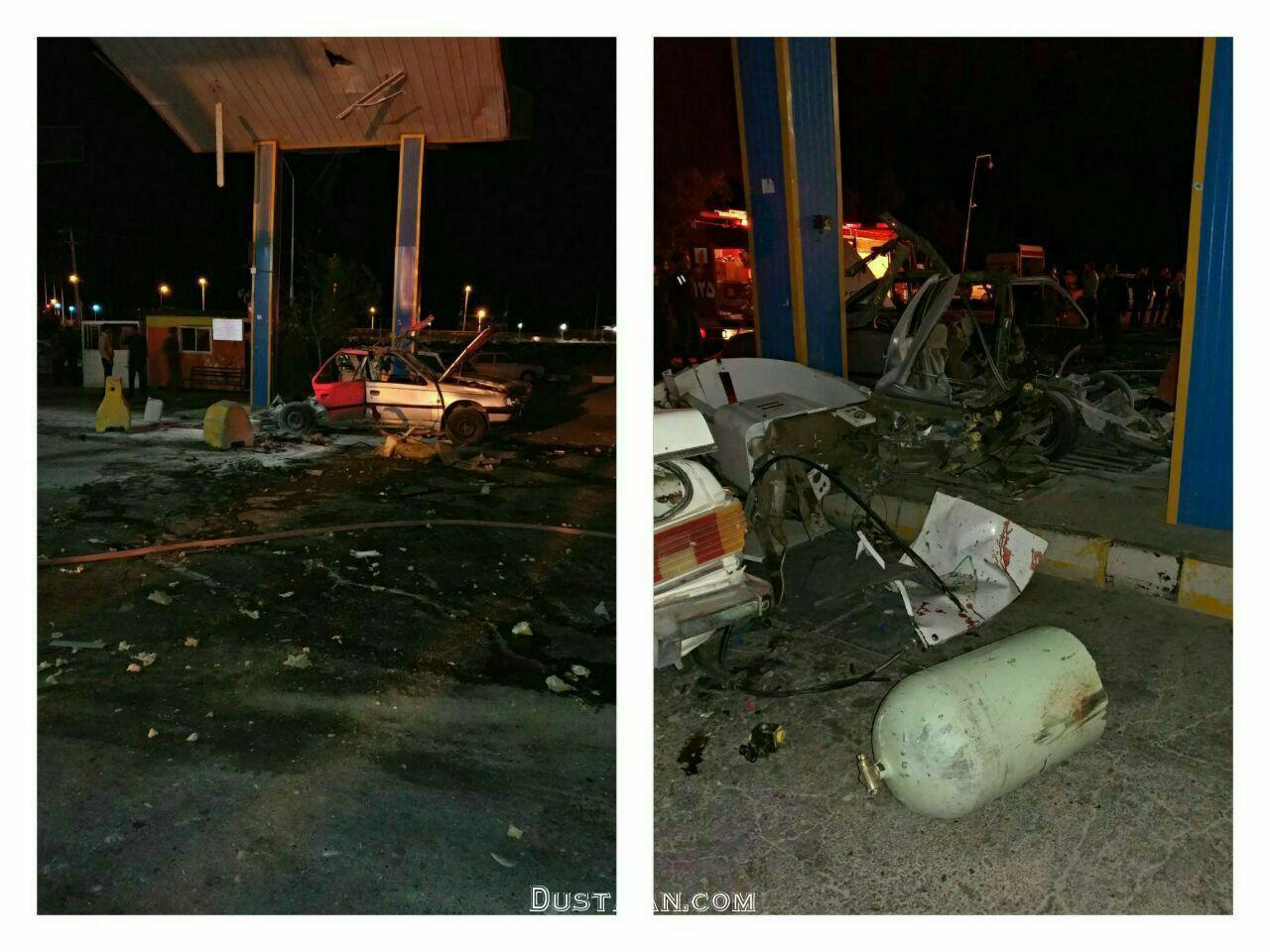 www.dustaan.com مرگ دلخراش کودک رفسنجانی در انفجار مخزن گاز +عکس