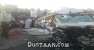 تصادف خونین در تبریز با سه فوتی