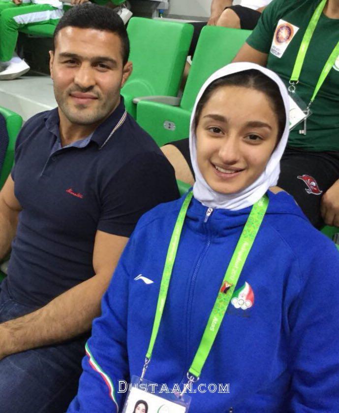 www.dustaan.com رضا یزدانی و دختر عمویش +عکس