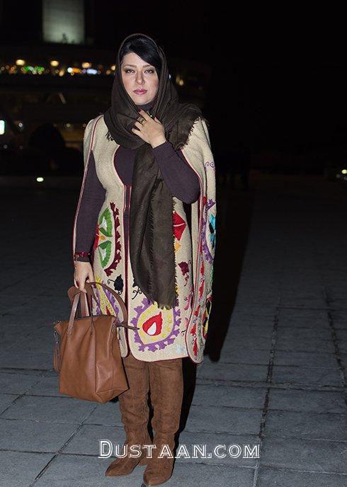 www.dustaan.com پریچهر قنبرى همسر شهاب حسینی روی صحنه تئاتر
