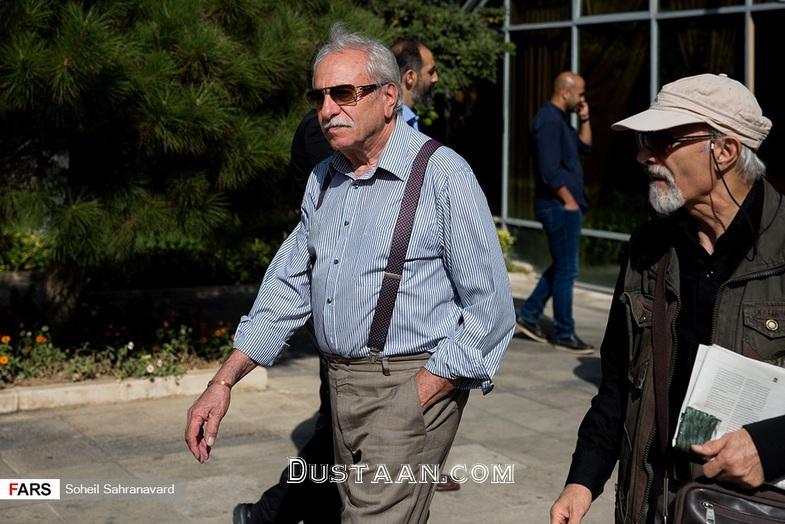 www.dustaan.com مراسم تششیع پیکر نادر گلچین خواننده قدیمی +تصاویر