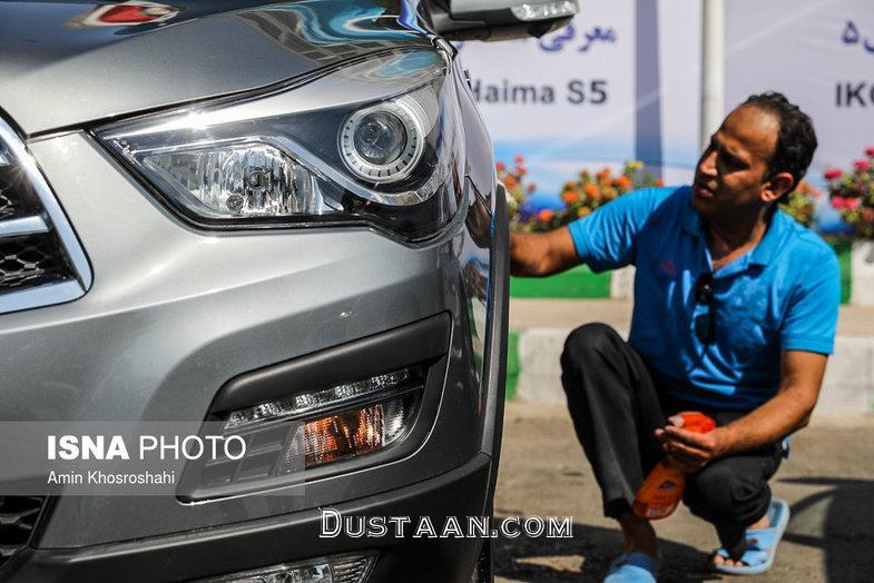www.dustaan.com رونمایی از محصول جدید ایران ایران خودرو در مشهد +تصاویر