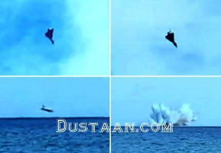 www.dustaan.com سقوط جنگنده ایتالیا حین نمایش هوایی +عکس