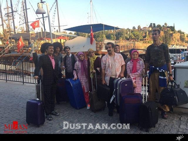 www.dustaan.com بازگشت عوامل سریال پایتخت به تهران +عکس