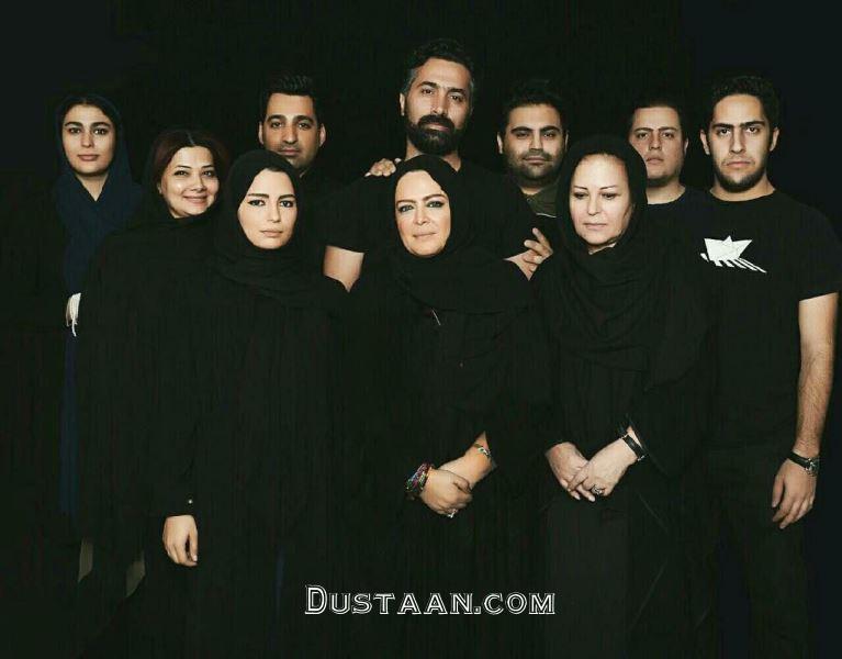 www.dustaan.com بهاره رهنما و امیرخسرو عباسی همبازی شدند! +عکس