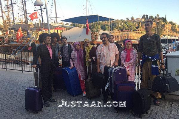www.dustaan.com عوامل «پایتخت 5» از ترکیه بازگشتند +عکس