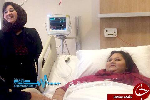 www.dustaan.com درگذشت چاق ترین زن دنیا +تصاویر