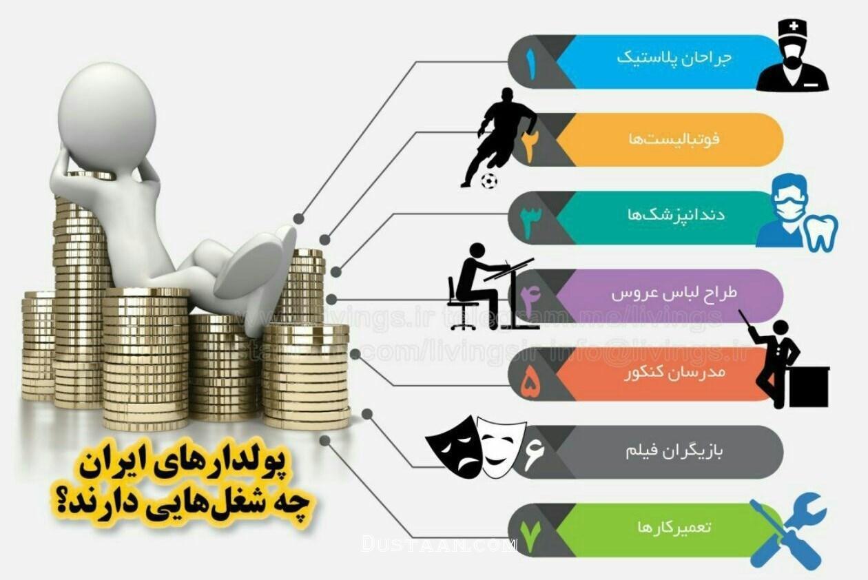www.dustaan.com - پردرآمدترین شغل های ایران را بشناسید! +عکس