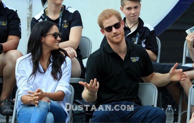 www.dustaan.com شاهزاده هری و نامزد بازیگرش در کانادا +تصاویر
