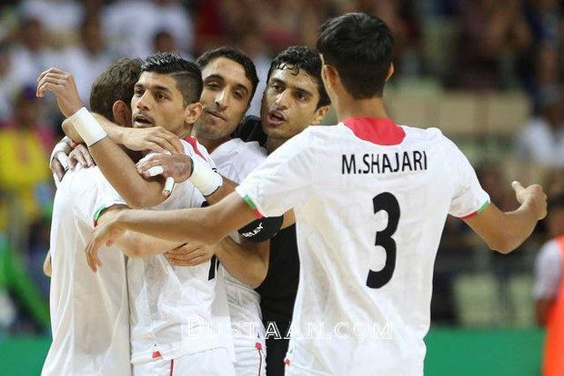 www.dustaan.com قهرمانی تیم ملی فوتسال با گلباران ازبکستان +عکس