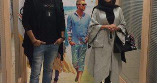 حامد کمیلی و سارا بهرامی در مراسم اکران «ایتالیا ایتالیا» +عکس