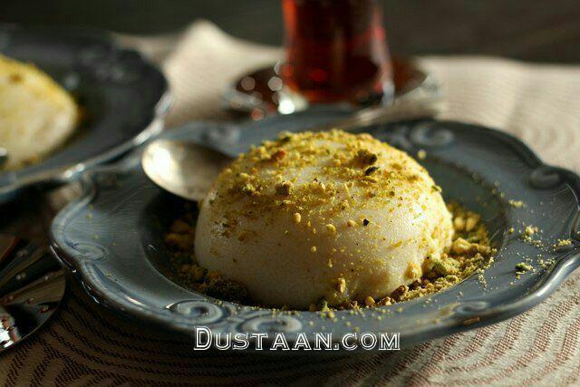 www.dustaan.com روش تهیه دسر سمولینای شیری؛ به سبکی خوشمزه