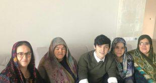 عکس خانوادگی سردار آزمون در روسیه!